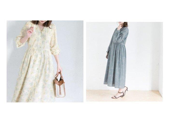 【URBAN RESEARCH ROSSO/アーバンリサーチ ロッソ】の【WEB限定】カラーフラワーパイピングワンピース 【ワンピース・ドレス】おすすめ!人気、トレンド・レディースファッションの通販  おすすめファッション通販アイテム レディースファッション・服の通販 founy(ファニー) ファッション Fashion レディースファッション WOMEN ワンピース Dress NEW・新作・新着・新入荷 New Arrivals ポケット |ID:crp329100000027913