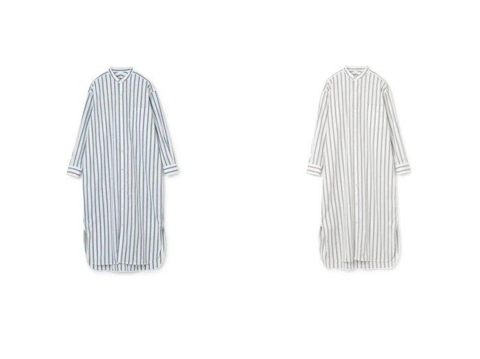 【YLEVE/イレーヴ】のOP 【ワンピース・ドレス】おすすめ!人気、トレンド・レディースファッションの通販  おすすめファッション通販アイテム インテリア・キッズ・メンズ・レディースファッション・服の通販 founy(ファニー) https://founy.com/ ファッション Fashion レディースファッション WOMEN ワンピース Dress シャツワンピース Shirt Dresses 2021年 2021 2021春夏・S/S SS/Spring/Summer/2021 S/S・春夏 SS・Spring/Summer カフス シンプル ブロード ボトム ヨーク レギンス 洗える 長袖  ID:crp329100000027923