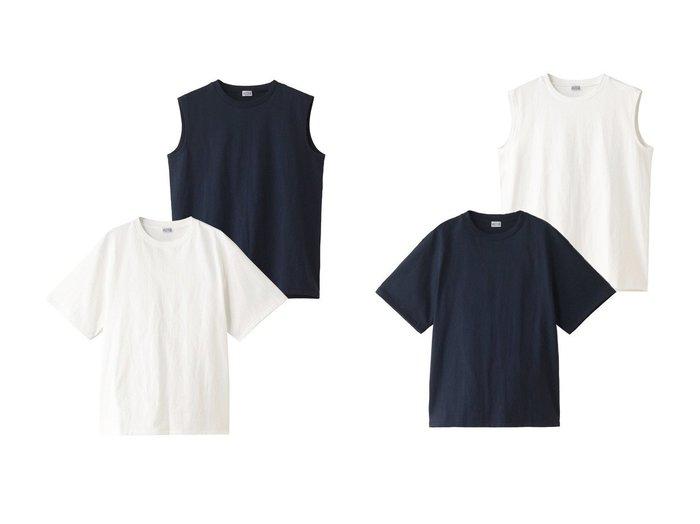 【Americana/アメリカーナ】の天竺クルーネックTシャツ&タンクトップパック 【トップス・カットソー】おすすめ!人気、トレンド・レディースファッションの通販  おすすめファッション通販アイテム レディースファッション・服の通販 founy(ファニー) ファッション Fashion レディースファッション WOMEN トップス・カットソー Tops/Tshirt シャツ/ブラウス Shirts/Blouses ロング / Tシャツ T-Shirts カットソー Cut and Sewn 2021年 2021 2021春夏・S/S SS/Spring/Summer/2021 S/S・春夏 SS・Spring/Summer インナー ショート シンプル スリーブ タンク ノースリーブ 半袖 春 Spring |ID:crp329100000027937