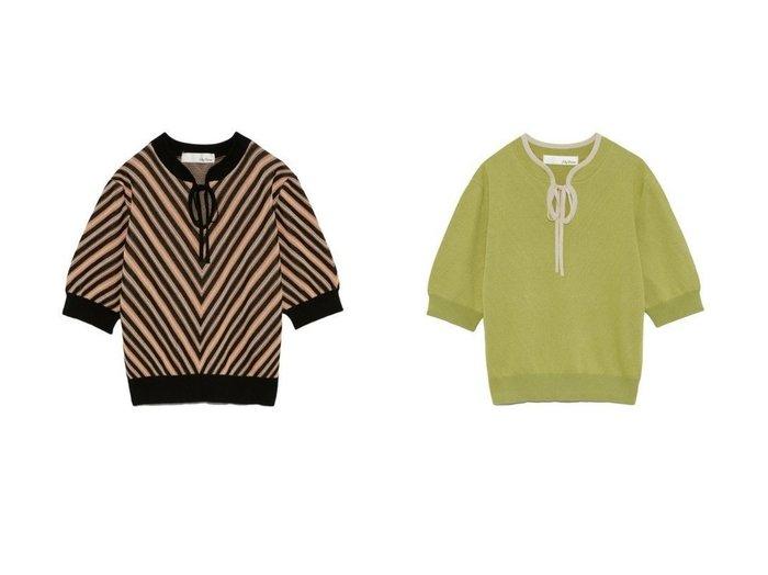 【Lily Brown/リリーブラウン】のオープンフロントニットトップス 【トップス・カットソー】おすすめ!人気、トレンド・レディースファッションの通販  おすすめファッション通販アイテム レディースファッション・服の通販 founy(ファニー) ファッション Fashion レディースファッション WOMEN トップス・カットソー Tops/Tshirt ニット Knit Tops クラシック ストライプ スマート セーター バランス ボトム 再入荷 Restock/Back in Stock/Re Arrival |ID:crp329100000027941