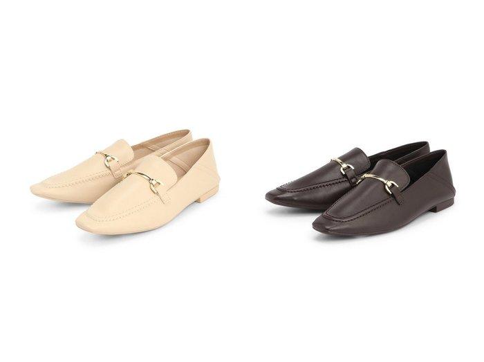 【LOWRYS FARM/ローリーズファーム】のソフトビットローファー 【シューズ・靴】おすすめ!人気、トレンド・レディースファッションの通販  おすすめファッション通販アイテム インテリア・キッズ・メンズ・レディースファッション・服の通販 founy(ファニー) https://founy.com/ ファッション Fashion レディースファッション WOMEN シューズ スーツ セットアップ ドレス 抗菌 軽量 |ID:crp329100000028026