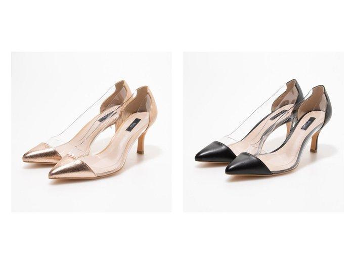 【EVOL/イーボル】のクリアポインテッドパンプス 【シューズ・靴】おすすめ!人気、トレンド・レディースファッションの通販  おすすめ人気トレンドファッション通販アイテム 人気、トレンドファッション・服の通販 founy(ファニー) ファッション Fashion レディースファッション WOMEN シューズ デニム トレンド |ID:crp329100000028029