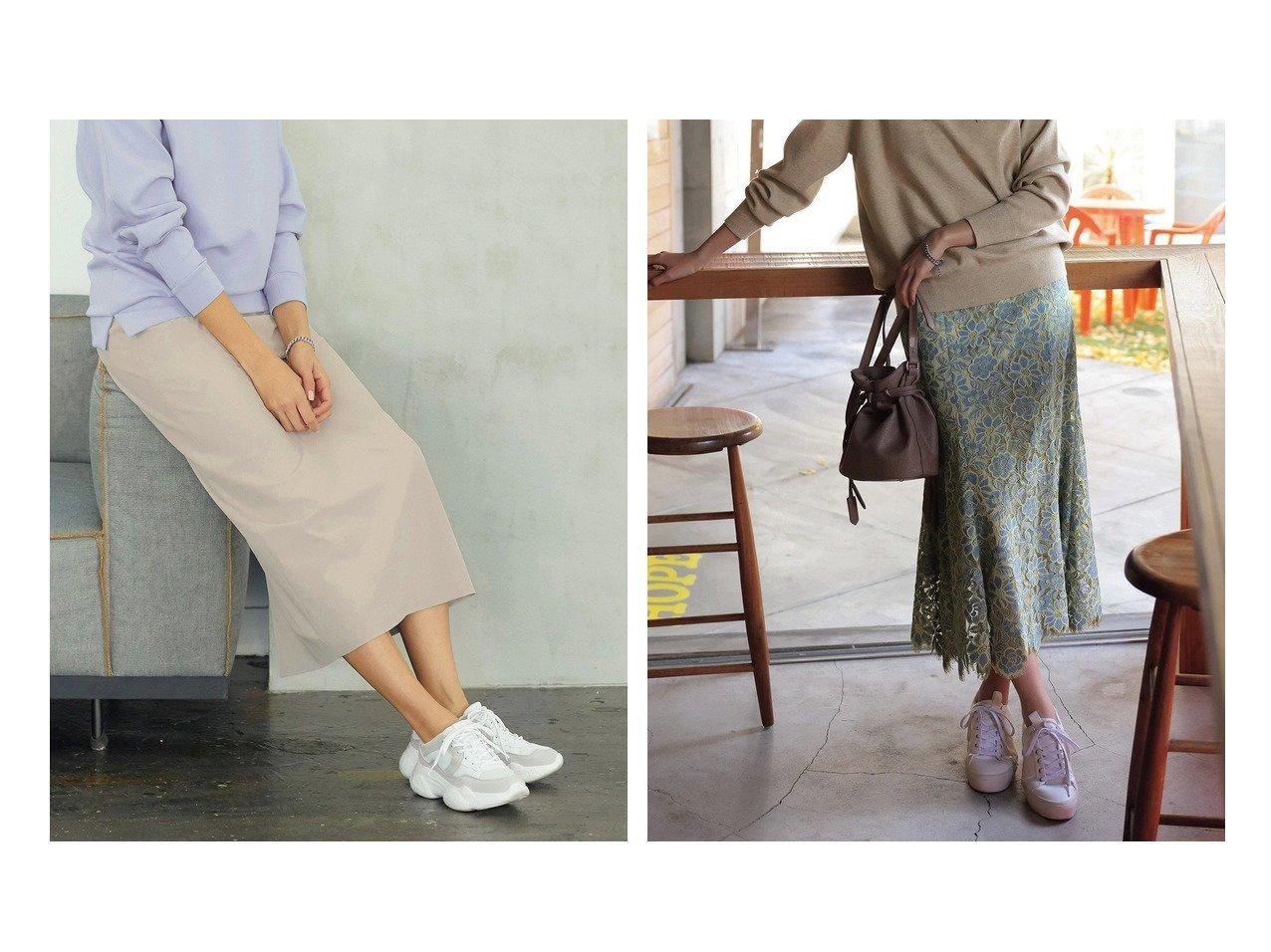【DoCLASSE/ドゥクラッセ】のライトストレッチ・ストレートスカート&総レース・裾フレアスカート 40代、50代の女性におすすめ!人気トレンド・ファッションの通販 おすすめで人気の流行・トレンド、ファッションの通販商品 メンズファッション・キッズファッション・インテリア・家具・レディースファッション・服の通販 founy(ファニー) https://founy.com/ ファッション Fashion レディースファッション WOMEN スカート Skirt Aライン/フレアスカート Flared A-Line Skirts ジャケット ストレッチ スポーティ スカラップ フレア マーメイド レース ロング 春 Spring |ID:crp329100000028112