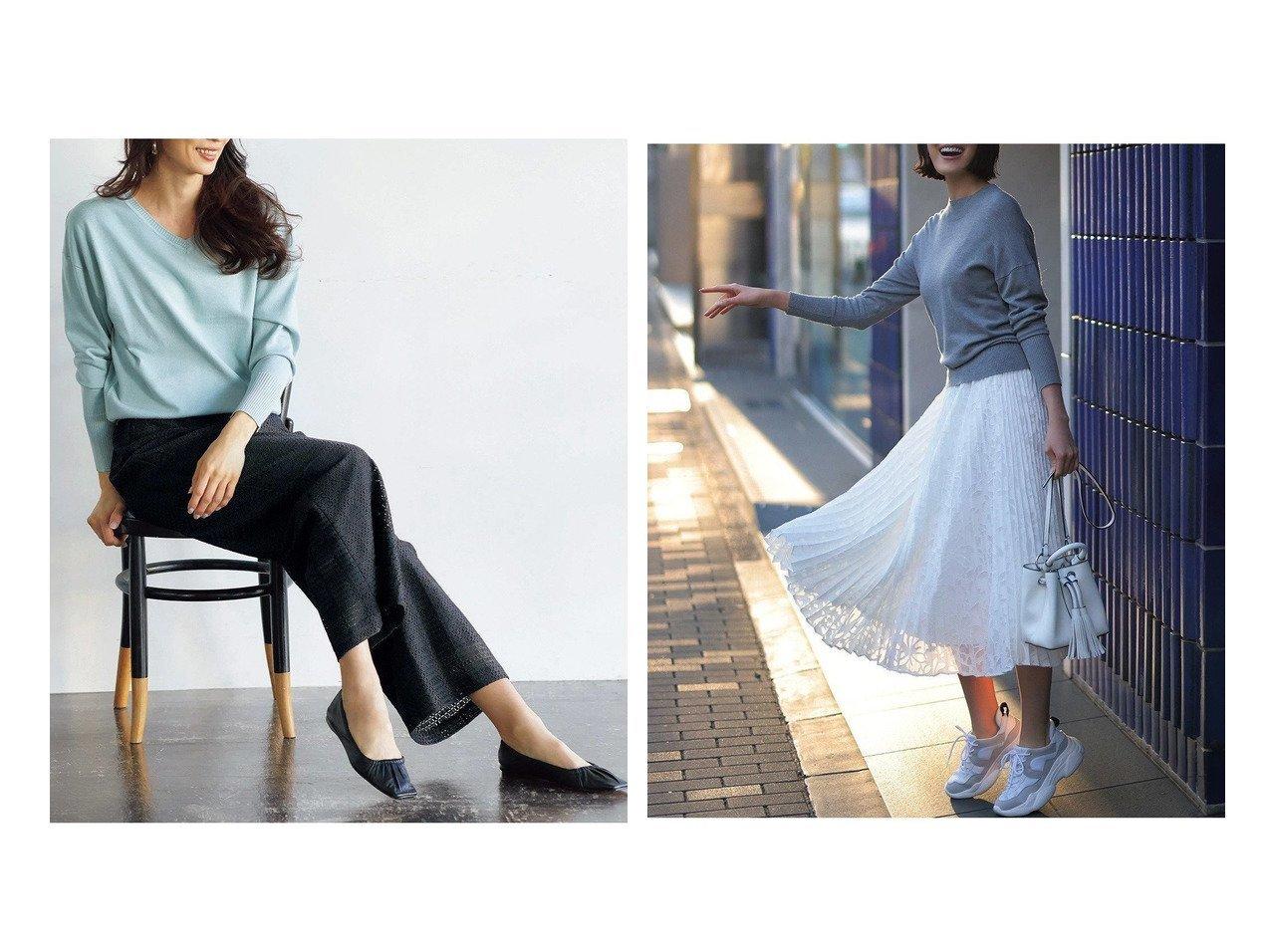 【DoCLASSE/ドゥクラッセ】のスクエアレース・ワイドパンツ&カットジャカード・プリーツスカート 40代、50代の女性におすすめ!人気トレンド・ファッションの通販 おすすめで人気の流行・トレンド、ファッションの通販商品 メンズファッション・キッズファッション・インテリア・家具・レディースファッション・服の通販 founy(ファニー) https://founy.com/ ファッション Fashion レディースファッション WOMEN パンツ Pants スカート Skirt プリーツスカート Pleated Skirts スクエア チェック フェミニン レース ワイド ジャカード プリーツ |ID:crp329100000028115