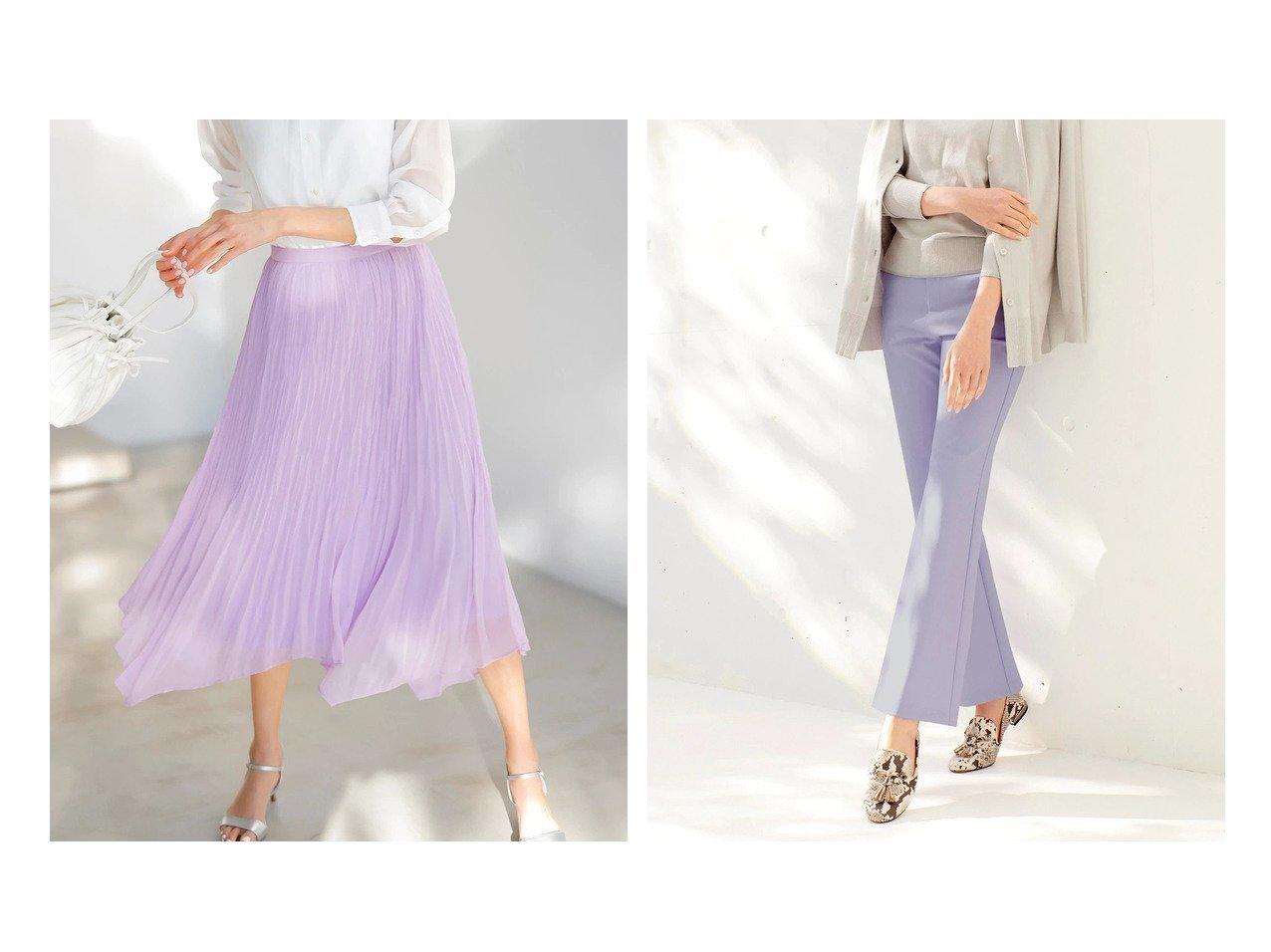 【DoCLASSE/ドゥクラッセ】のランダムヘム・シフォンスカート&ミラクルストレッチN・フレア/70cm 40代、50代の女性におすすめ!人気トレンド・ファッションの通販 おすすめで人気の流行・トレンド、ファッションの通販商品 メンズファッション・キッズファッション・インテリア・家具・レディースファッション・服の通販 founy(ファニー) https://founy.com/ ファッション Fashion レディースファッション WOMEN スカート Skirt シフォン プリーツ ランダム ストレッチ ストレート スリム フレア レギンス ワイド 人気 今季 |ID:crp329100000028129