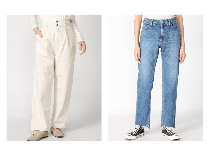 【FRAMeWORK/フレームワーク】のスソスリットDENIM&【GLOBAL WORK/グローバルワーク】のハイウエストタックデニムPT 【パンツ】おすすめ!人気、トレンド・レディースファッションの通販 おすすめファッション通販アイテム レディースファッション・服の通販 founy(ファニー)  ファッション Fashion レディースファッション WOMEN パンツ Pants NEW・新作・新着・新入荷 New Arrivals おすすめ Recommend シンプル ジーンズ バランス フェミニン 2021年 2021 2021春夏・S/S SS/Spring/Summer/2021 S/S・春夏 SS・Spring/Summer ストレッチ ストレート スリット デニム ルーズ |ID:crp329100000028136