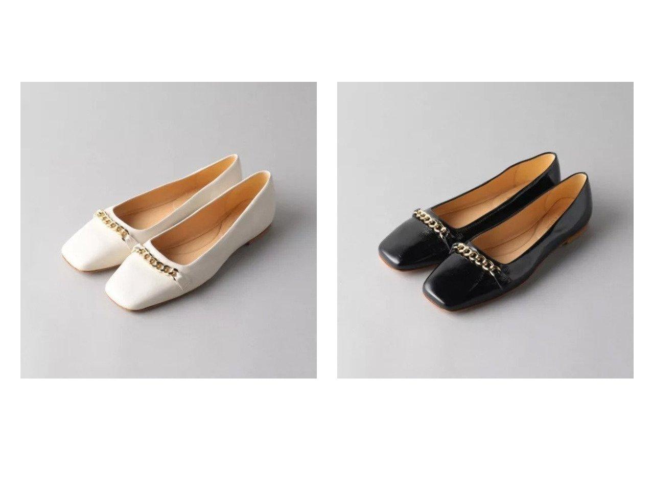 【Odette e Odile/オデット エ オディール】の【別注】FABIO RUSCONI chain FLT 【シューズ・靴】おすすめ!人気、トレンド・レディースファッションの通販 おすすめで人気の流行・トレンド、ファッションの通販商品 メンズファッション・キッズファッション・インテリア・家具・レディースファッション・服の通販 founy(ファニー) https://founy.com/ ファッション Fashion レディースファッション WOMEN シューズ チェーン フィット フラット 別注  ID:crp329100000028145