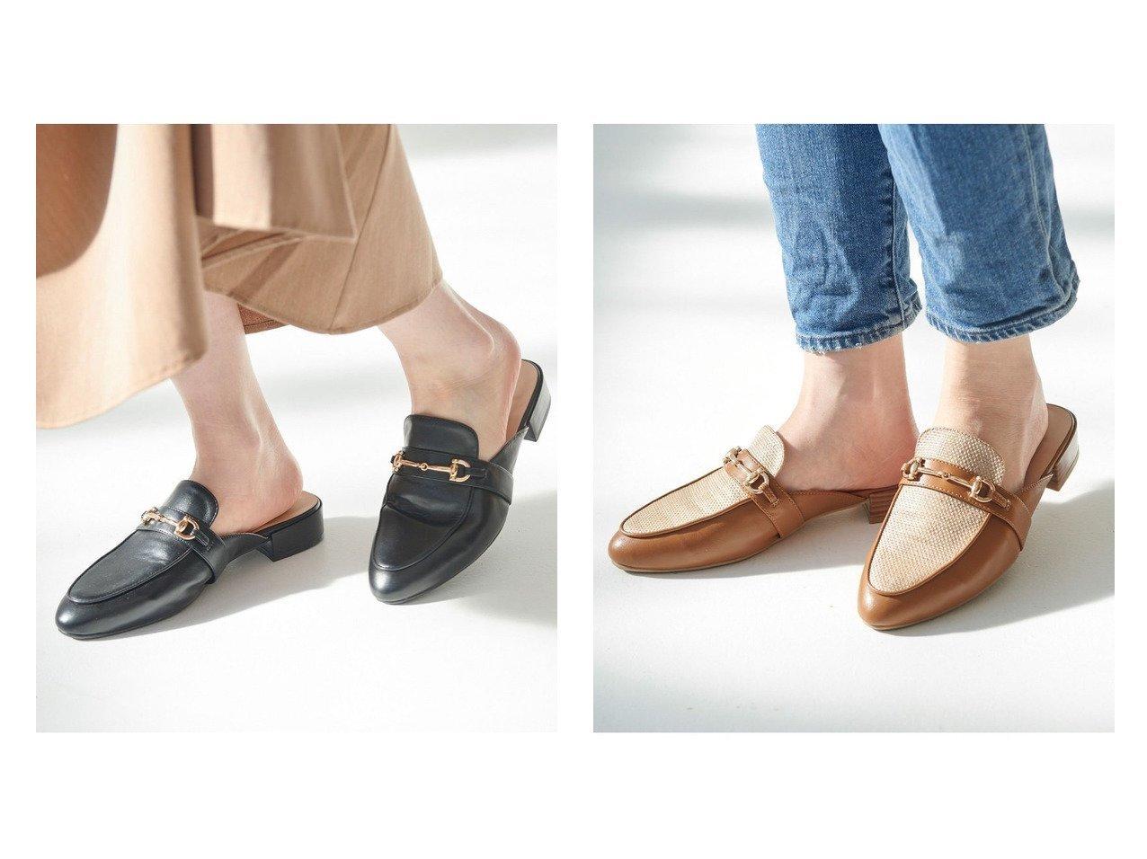 【Juze/ジュゼ】の【HARUTA*Juze】ビットミュールローファー 【シューズ・靴】おすすめ!人気、トレンド・レディースファッションの通販 おすすめで人気の流行・トレンド、ファッションの通販商品 メンズファッション・キッズファッション・インテリア・家具・レディースファッション・服の通販 founy(ファニー) https://founy.com/ ファッション Fashion レディースファッション WOMEN おすすめ Recommend インソール クッション シューズ シンプル パターン マニッシュ ミュール メッシュ  ID:crp329100000028149
