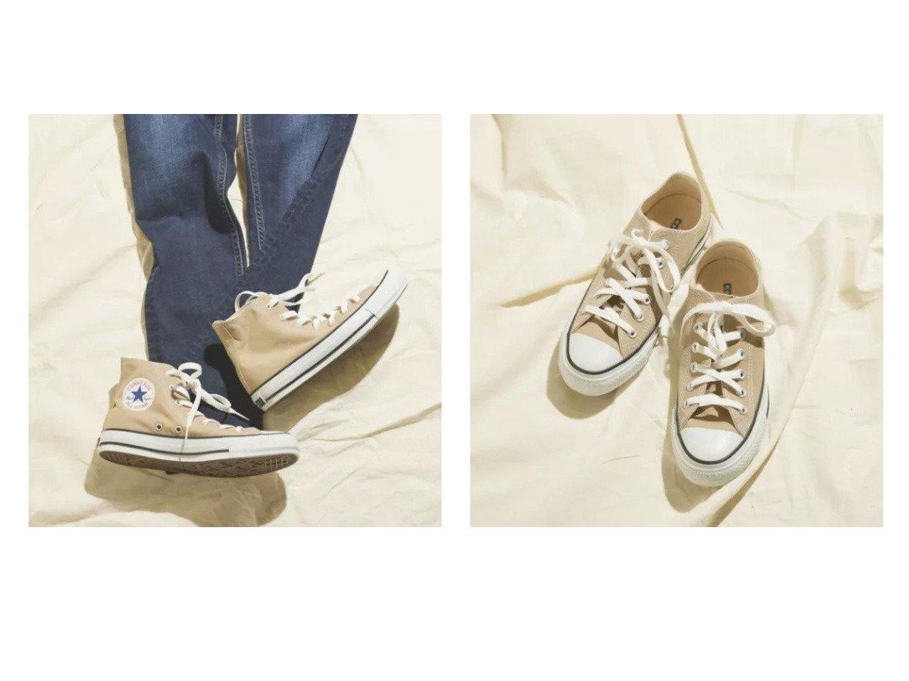 【LIPSTAR/リップスター】の≪コンバース≫CANVAS ALL STAR COLORS OX&≪コンバース≫CANVAS ALL STAR COLORS HI 【シューズ・靴】おすすめ!人気、トレンド・レディースファッションの通販 おすすめ人気トレンドファッション通販アイテム インテリア・キッズ・メンズ・レディースファッション・服の通販 founy(ファニー)  ファッション Fashion レディースファッション WOMEN キャンバス シューズ シンプル スニーカー 定番 Standard ベージュ系 Beige ホワイト系 White |ID:crp329100000028153
