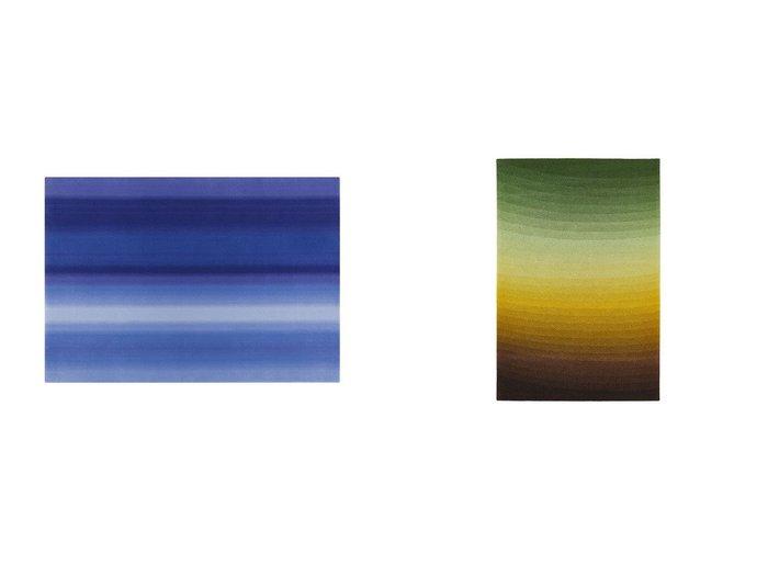 【Yamagata Dantsu/山形緞通】のCONTEMPORARY LINE - SORA SERIES - 現代ライン - 空シリーズ - しぐれ&DESIGNER LINE - MIKIYA KOBAYASHI - デザイナーライン - 小林 幹也 - コウ  【FURNITURE】Made in Japan 日本製 おすすめ!人気、インテリア・家具の通販 おすすめファッション通販アイテム インテリア・キッズ・メンズ・レディースファッション・服の通販 founy(ファニー) https://founy.com/ 送料無料 Free Shipping グラデーション 冬 Winter コレクション テーブル バランス  ID:crp329100000028208