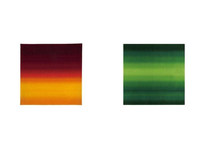 【Yamagata Dantsu/山形緞通】のCONTEMPORARY LINE - SORA SERIES - 現代ライン - 空シリーズ - まつかぜ 255 × 255cm&CONTEMPORARY LINE - SORA SERIES - 現代ライン - 空シリーズ - あけぼの 255 × 255cm  【FURNITURE】Made in Japan 日本製 おすすめ!人気、インテリア・家具の通販 おすすめファッション通販アイテム インテリア・キッズ・メンズ・レディースファッション・服の通販 founy(ファニー) https://founy.com/ グラデーション  ID:crp329100000028209