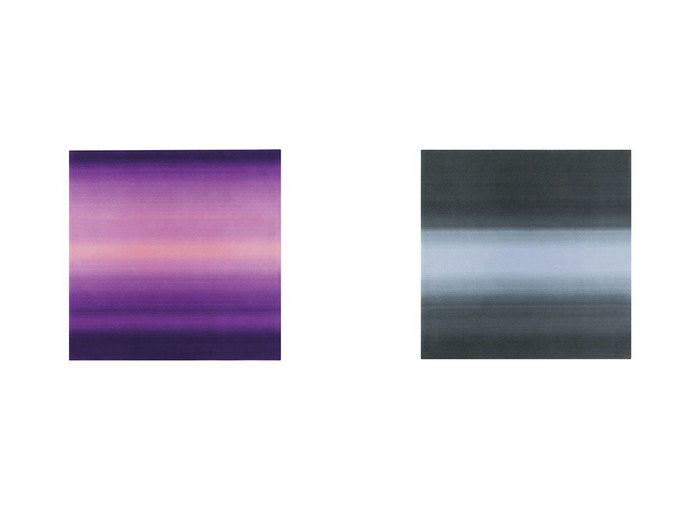 【Yamagata Dantsu/山形緞通】のCONTEMPORARY LINE - SORA SERIES - 現代ライン - 空シリーズ - しののめ 255 × 255cm&CONTEMPORARY LINE - SORA SERIES - 現代ライン - 空シリーズ - くうや 255 × 255cm  【FURNITURE】Made in Japan 日本製 おすすめ!人気、インテリア・家具の通販 おすすめファッション通販アイテム インテリア・キッズ・メンズ・レディースファッション・服の通販 founy(ファニー) https://founy.com/ グラデーション  ID:crp329100000028210