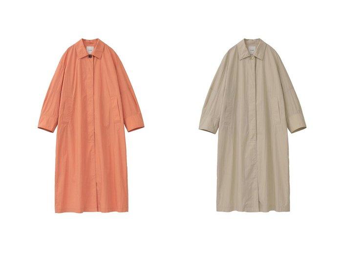 【CLANE/クラネ】のLIGHT FEEL SINGLE COAT 【アウター】おすすめ!人気、トレンド・レディースファッションの通販  おすすめファッション通販アイテム レディースファッション・服の通販 founy(ファニー) ファッション Fashion レディースファッション WOMEN アウター Coat Outerwear コート Coats NEW・新作・新着・新入荷 New Arrivals シンプル スリーブ ベーシック 春 Spring |ID:crp329100000028218