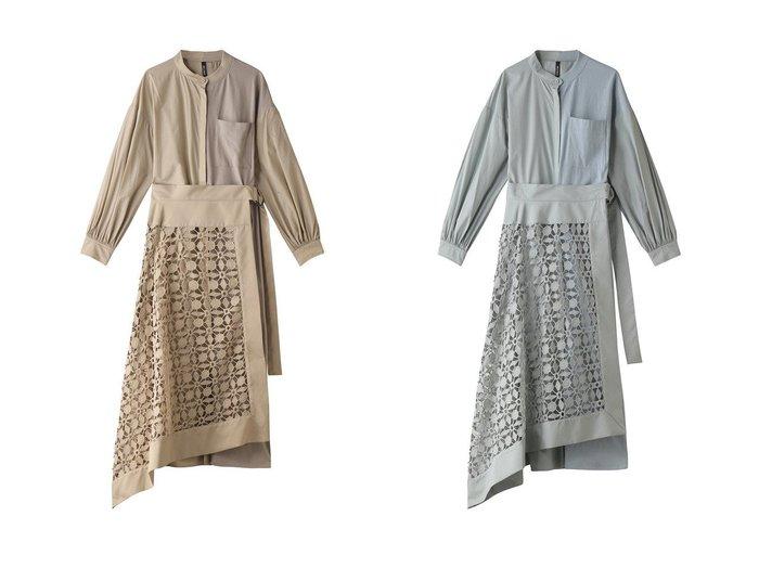 【AULA/アウラ】の【AULA AILA】レースラップスカートセットドレス 【ワンピース・ドレス】おすすめ!人気、トレンド・レディースファッションの通販  おすすめファッション通販アイテム インテリア・キッズ・メンズ・レディースファッション・服の通販 founy(ファニー) https://founy.com/ ファッション Fashion レディースファッション WOMEN スカート Skirt 2021年 2021 2021春夏・S/S SS/Spring/Summer/2021 S/S・春夏 SS・Spring/Summer 春 Spring 羽織 |ID:crp329100000028255
