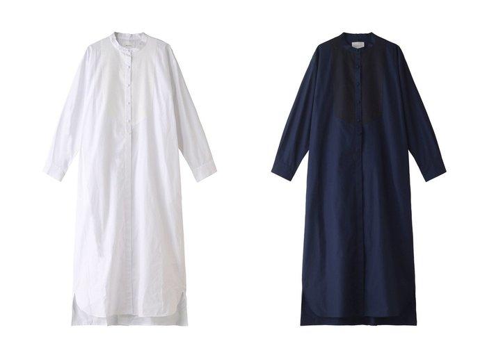【MIDIUMISOLID/ミディウミソリッド】のmens like dress shirt OP 【ワンピース・ドレス】おすすめ!人気、トレンド・レディースファッションの通販  おすすめファッション通販アイテム インテリア・キッズ・メンズ・レディースファッション・服の通販 founy(ファニー) https://founy.com/ ファッション Fashion レディースファッション WOMEN ワンピース Dress ドレス Party Dresses 2021年 2021 2021春夏・S/S SS/Spring/Summer/2021 S/S・春夏 SS・Spring/Summer クラシック スタンド フロント ロング 春 Spring |ID:crp329100000028256