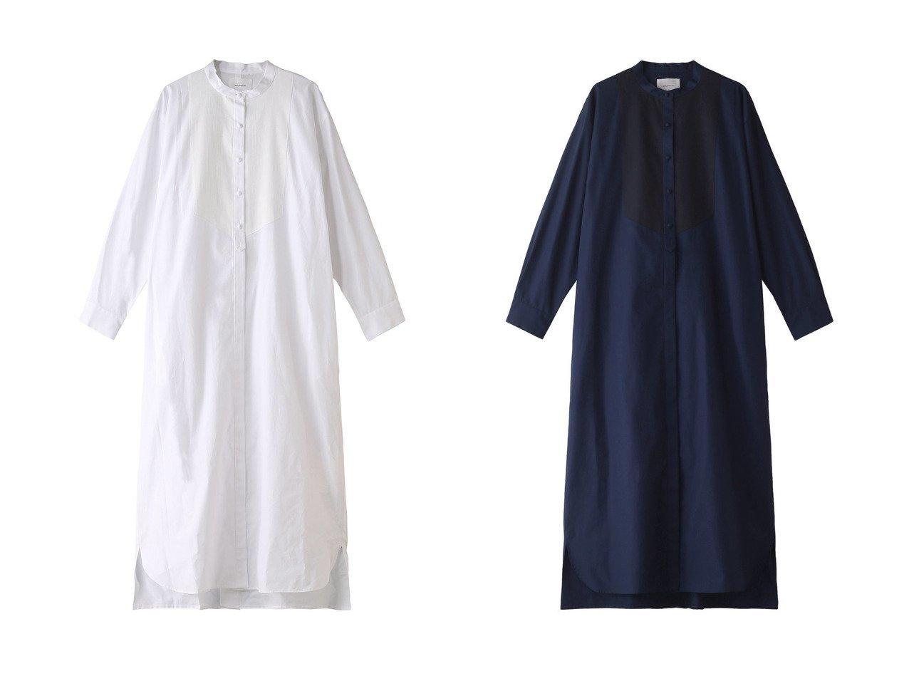 【MIDIUMISOLID/ミディウミソリッド】のmens like dress shirt OP 【ワンピース・ドレス】おすすめ!人気、トレンド・レディースファッションの通販  おすすめで人気の流行・トレンド、ファッションの通販商品 メンズファッション・キッズファッション・インテリア・家具・レディースファッション・服の通販 founy(ファニー) https://founy.com/ ファッション Fashion レディースファッション WOMEN ワンピース Dress ドレス Party Dresses 2021年 2021 2021春夏・S/S SS/Spring/Summer/2021 S/S・春夏 SS・Spring/Summer クラシック スタンド フロント ロング 春 Spring  ID:crp329100000028256