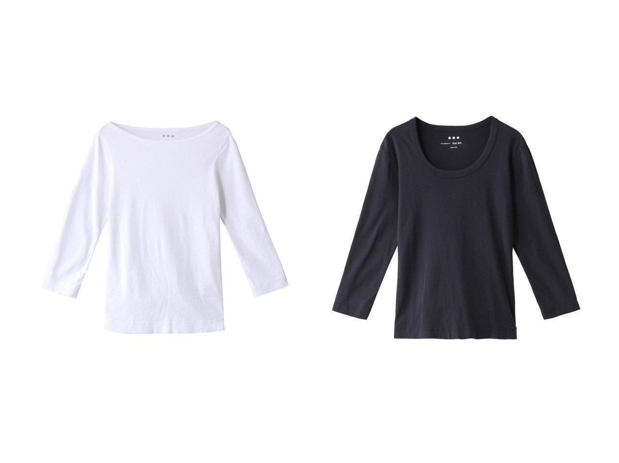 【three dots/スリー ドッツ】のTシャツ&コットンニット 【トップス・カットソー】おすすめ!人気、トレンド・レディースファッションの通販  おすすめで人気の流行・トレンド、ファッションの通販商品 メンズファッション・キッズファッション・インテリア・家具・レディースファッション・服の通販 founy(ファニー) https://founy.com/ ファッション Fashion レディースファッション WOMEN トップス・カットソー Tops/Tshirt ニット Knit Tops シャツ/ブラウス Shirts/Blouses ロング / Tシャツ T-Shirts カットソー Cut and Sewn プルオーバー Pullover 2021年 2021 2021春夏・S/S SS/Spring/Summer/2021 S/S・春夏 SS・Spring/Summer コンパクト シンプル スリーブ ベーシック ロング 春 Spring  ID:crp329100000028296