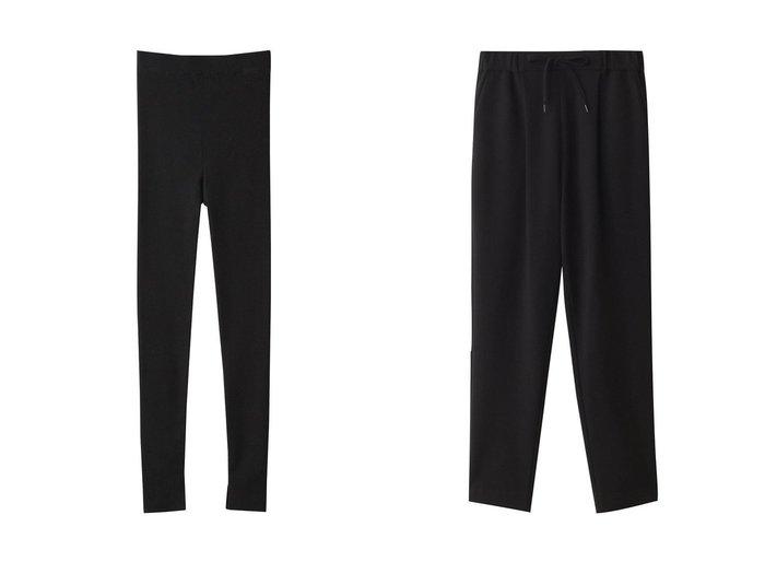 【three dots/スリー ドッツ】のレギンス&パンツ 【パンツ】おすすめ!人気、トレンド・レディースファッションの通販 おすすめファッション通販アイテム レディースファッション・服の通販 founy(ファニー) ファッション Fashion レディースファッション WOMEN パンツ Pants レギンス Leggings レッグウェア Legwear 2021年 2021 2021春夏・S/S SS/Spring/Summer/2021 S/S・春夏 SS・Spring/Summer シンプル スリット ベーシック レギンス 春 Spring  ID:crp329100000028319