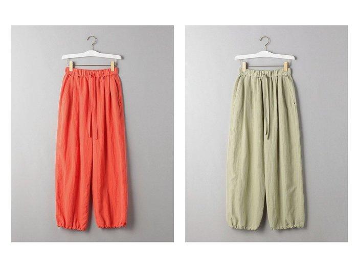 【BEAUTY&YOUTH / UNITED ARROWS/ビューティ&ユース ユナイテッドアローズ】のBY ジョグイージーパンツ 【パンツ】おすすめ!人気、トレンド・レディースファッションの通販 おすすめファッション通販アイテム レディースファッション・服の通販 founy(ファニー) ファッション Fashion レディースファッション WOMEN パンツ Pants S/S・春夏 SS・Spring/Summer ジーンズ ドローコード ボトム リラックス 春 Spring |ID:crp329100000028336