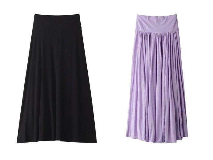 【three dots/スリー ドッツ】のロングスカート&スカート 【スカート】おすすめ!人気、トレンド・レディースファッションの通販 おすすめファッション通販アイテム インテリア・キッズ・メンズ・レディースファッション・服の通販 founy(ファニー) https://founy.com/ ファッション Fashion レディースファッション WOMEN スカート Skirt ロングスカート Long Skirt 2021年 2021 2021春夏・S/S SS/Spring/Summer/2021 S/S・春夏 SS・Spring/Summer シンプル ロング 春 Spring |ID:crp329100000028343