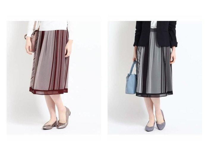 【Reflect/リフレクト】の【WEB限定カラーあり】ミックスプリントスカート 【スカート】おすすめ!人気、トレンド・レディースファッションの通販 おすすめファッション通販アイテム インテリア・キッズ・メンズ・レディースファッション・服の通販 founy(ファニー) https://founy.com/ ファッション Fashion レディースファッション WOMEN スカート Skirt クール ストライプ ドット ニューヨーク フレア プリント |ID:crp329100000028354