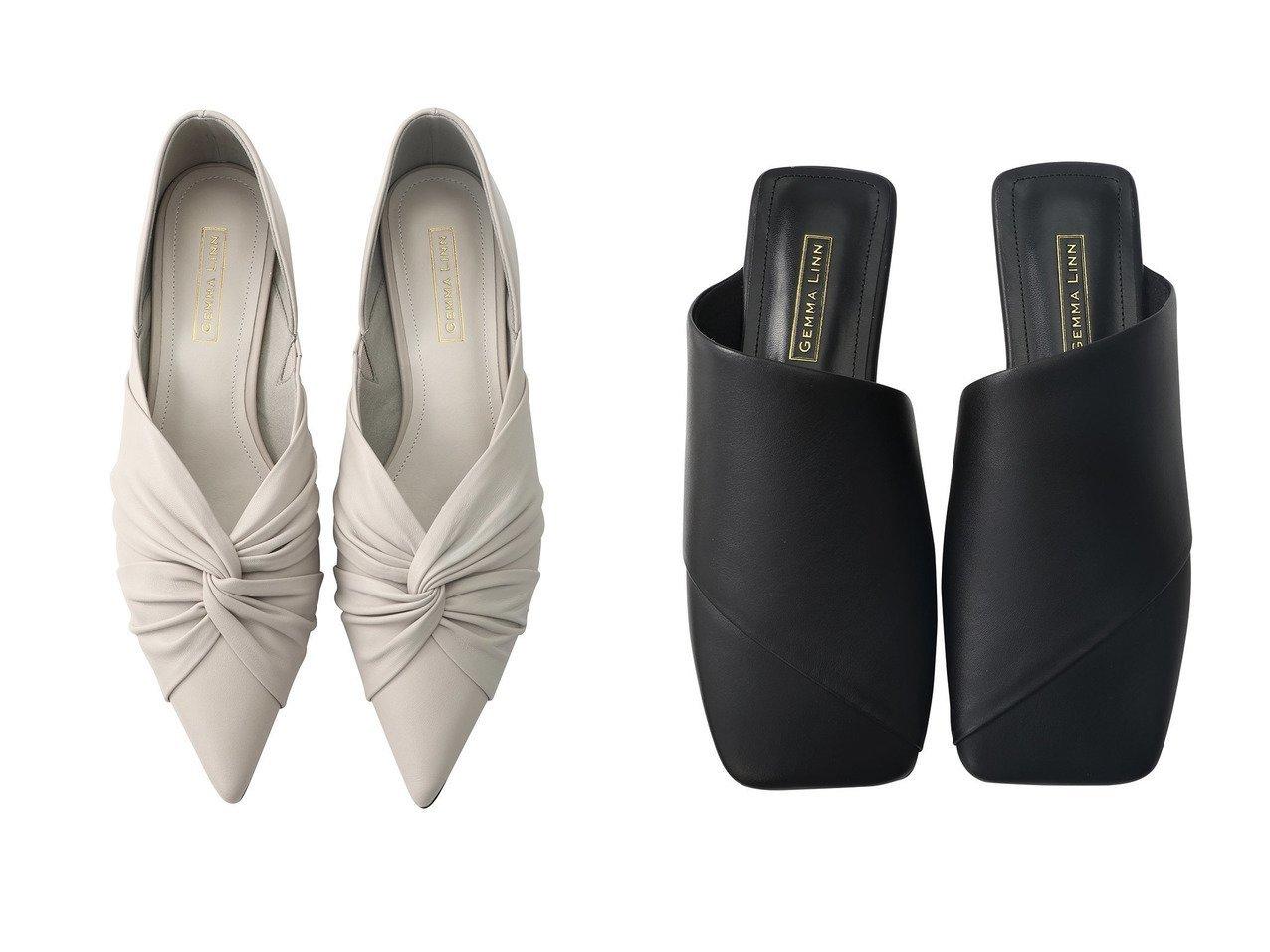 【Daniella & GEMMA/ダニエラ アンド ジェマ】のアシンメトリーフラットサンダル&ポインテッドトゥギャザーパンプス 【シューズ・靴】おすすめ!人気、トレンド・レディースファッションの通販 おすすめで人気の流行・トレンド、ファッションの通販商品 メンズファッション・キッズファッション・インテリア・家具・レディースファッション・服の通販 founy(ファニー) https://founy.com/ ファッション Fashion レディースファッション WOMEN 2021年 2021 2021春夏・S/S SS/Spring/Summer/2021 S/S・春夏 SS・Spring/Summer エレガント ギャザー シェイプ スマート パーティ ベーシック 春 Spring  ID:crp329100000028376