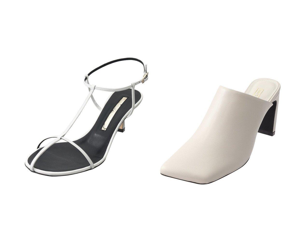 【Daniella & GEMMA/ダニエラ アンド ジェマ】のスクエアトゥセットバックヒールミュールサンダル&【BRENTA/ブレンタ】のスキニーストラップサンダル 【シューズ・靴】おすすめ!人気、トレンド・レディースファッションの通販 おすすめで人気の流行・トレンド、ファッションの通販商品 メンズファッション・キッズファッション・インテリア・家具・レディースファッション・服の通販 founy(ファニー) https://founy.com/ ファッション Fashion レディースファッション WOMEN バッグ Bag 2021年 2021 2021春夏・S/S SS/Spring/Summer/2021 S/S・春夏 SS・Spring/Summer なめらか サマー サンダル ヌーディ ラップ 春 Spring  ID:crp329100000028377