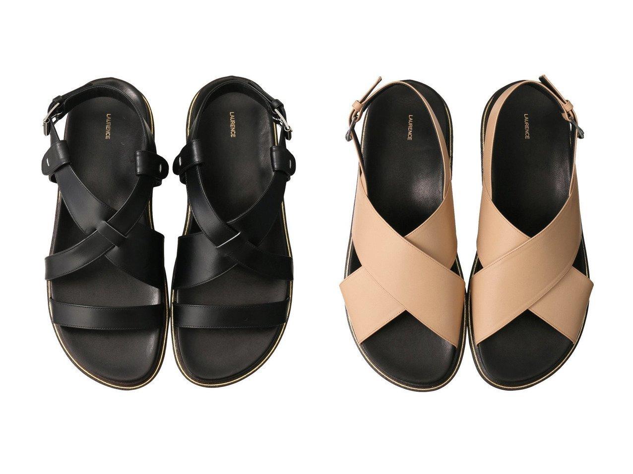 【LAURENCE/ロランス】のフットベッドアテネサンダル&フットベッドクロスサンダル 【シューズ・靴】おすすめ!人気、トレンド・レディースファッションの通販 おすすめで人気の流行・トレンド、ファッションの通販商品 メンズファッション・キッズファッション・インテリア・家具・レディースファッション・服の通販 founy(ファニー) https://founy.com/ ファッション Fashion レディースファッション WOMEN 2021年 2021 2021春夏・S/S SS/Spring/Summer/2021 S/S・春夏 SS・Spring/Summer クッション サンダル シンプル ベーシック 春 Spring  ID:crp329100000028378