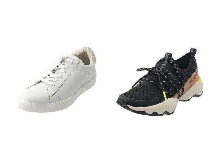 【Esmeralda/エスメラルダ】の【MIO NOTIS】レースアップスニーカー&【SOREL/ソレル】のキネティックインパクトレースメッシュ/スニーカー 【シューズ・靴】おすすめ!人気、トレンド・レディースファッションの通販 おすすめファッション通販アイテム レディースファッション・服の通販 founy(ファニー) ファッション Fashion レディースファッション WOMEN 2021年 2021 2021春夏・S/S SS/Spring/Summer/2021 S/S・春夏 SS・Spring/Summer スニーカー トレンド ベーシック 春 Spring |ID:crp329100000028380