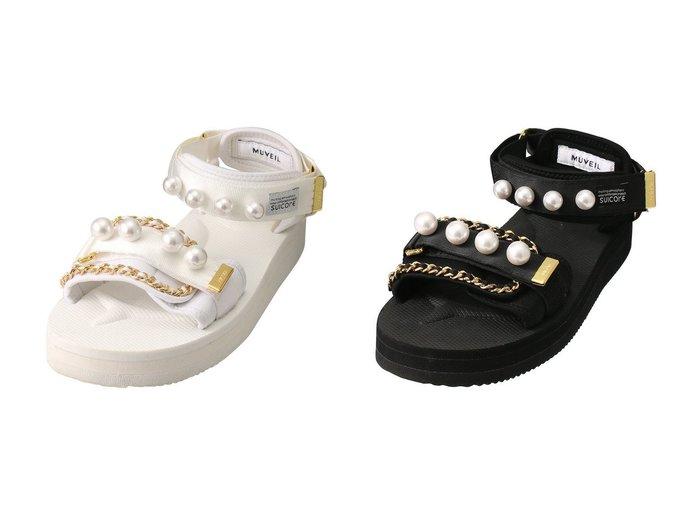 【MUVEIL/ミュベール】のSUICOKE コラボサンダル 【シューズ・靴】おすすめ!人気、トレンド・レディースファッションの通販 おすすめファッション通販アイテム インテリア・キッズ・メンズ・レディースファッション・服の通販 founy(ファニー) https://founy.com/ ファッション Fashion レディースファッション WOMEN 2021年 2021 2021春夏・S/S SS/Spring/Summer/2021 S/S・春夏 SS・Spring/Summer おすすめ Recommend コラボ サンダル チェーン パール 春 Spring |ID:crp329100000028384