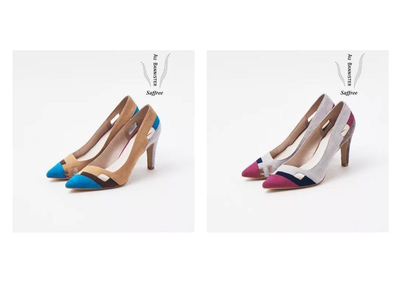 【Au BANNISTER/オゥ バニスター】のSaffree カットワークハイヒールパンプス 【シューズ・靴】おすすめ!人気、トレンド・レディースファッションの通販 おすすめで人気の流行・トレンド、ファッションの通販商品 メンズファッション・キッズファッション・インテリア・家具・レディースファッション・服の通販 founy(ファニー) https://founy.com/ ファッション Fashion レディースファッション WOMEN インソール シューズ 定番 Standard フラット ブロック |ID:crp329100000028393