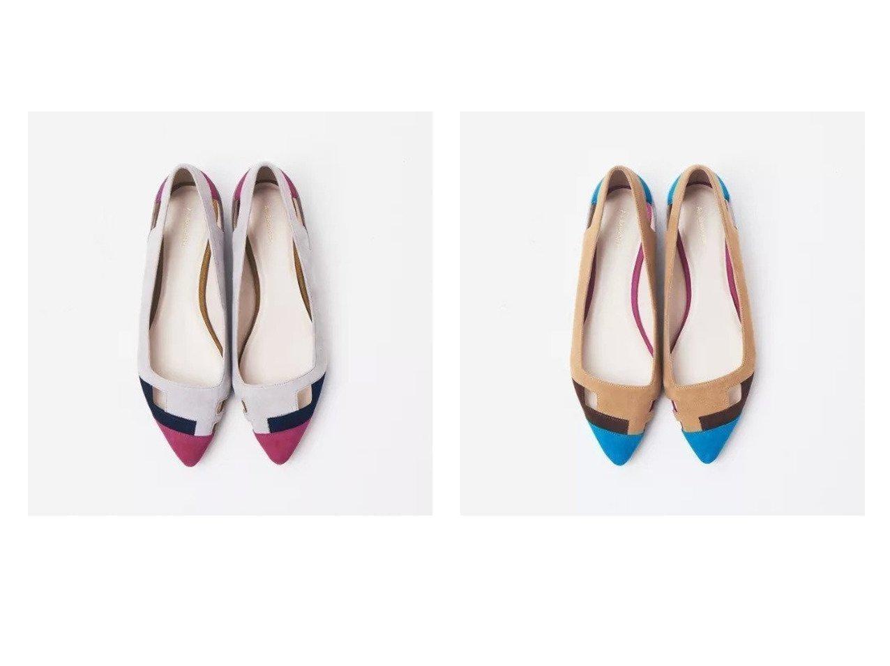 【Au BANNISTER/オゥ バニスター】のカットワークフラットパンプス 【シューズ・靴】おすすめ!人気、トレンド・レディースファッションの通販 おすすめで人気の流行・トレンド、ファッションの通販商品 メンズファッション・キッズファッション・インテリア・家具・レディースファッション・服の通販 founy(ファニー) https://founy.com/ ファッション Fashion レディースファッション WOMEN シューズ フラット ブロック 定番 Standard |ID:crp329100000028394