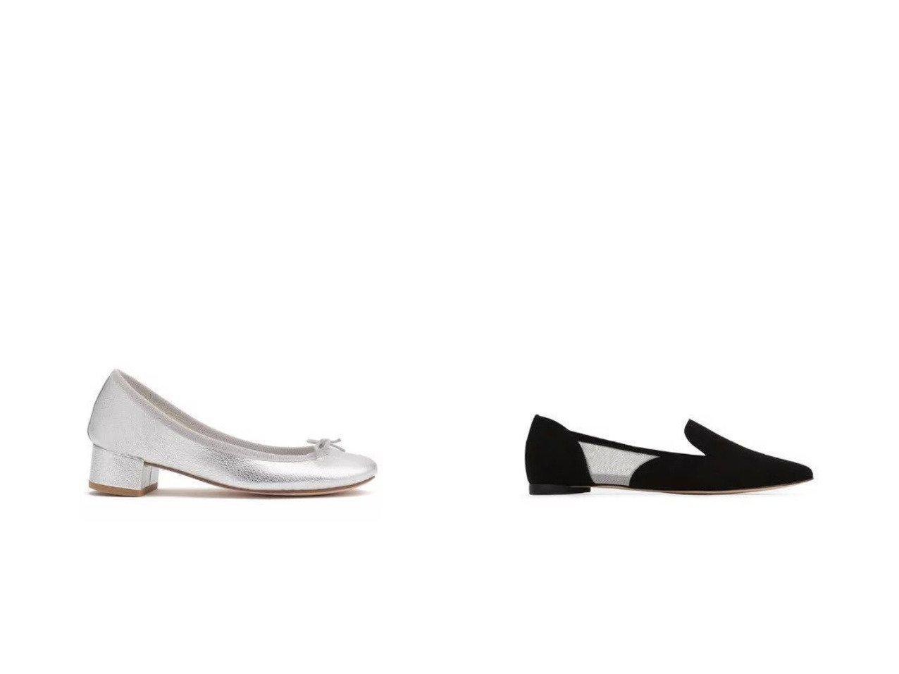 【repetto/レペット】のNanet Slippers&Camille Ballerinas 【シューズ・靴】おすすめ!人気、トレンド・レディースファッションの通販 おすすめで人気の流行・トレンド、ファッションの通販商品 メンズファッション・キッズファッション・インテリア・家具・レディースファッション・服の通販 founy(ファニー) https://founy.com/ ファッション Fashion レディースファッション WOMEN シューズ バレエ フラット ミドル エレガント スエード スリッポン メッシュ |ID:crp329100000028397