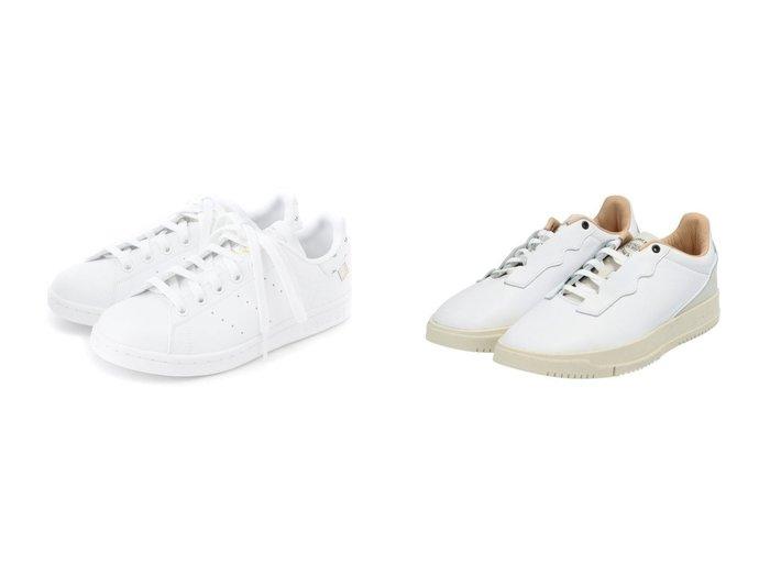 【adidas Originals/アディダス オリジナルス】のスタンスミス STAN SMITH アディダスオリジナルス&スーパーコート プレミアム SUPERCOURT PREMIUM アディダスオリジナルス FXFX5724 FX5726 【シューズ・靴】おすすめ!人気、トレンド・レディースファッションの通販 おすすめファッション通販アイテム レディースファッション・服の通販 founy(ファニー) ファッション Fashion レディースファッション WOMEN アウター Coat Outerwear コート Coats シューズ スニーカー スポーツ スリッポン フィット プレミアム ベスト ベーシック ミックス メンズ レギュラー レース クラシック |ID:crp329100000028398