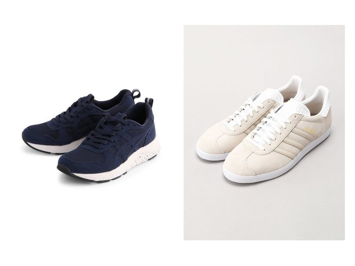 【asics/アシックス】の《アシックス公式》 スニーカー 【ゲルムージー 007】 2E相当&【adidas Originals/アディダス オリジナルス】の【FREAK S STORE】ガゼル Gazelle 【シューズ・靴】おすすめ!人気、トレンド・レディースファッションの通販 おすすめファッション通販アイテム レディースファッション・服の通販 founy(ファニー) ファッション Fashion レディースファッション WOMEN クラシック サッカー シューズ スエード スニーカー スリッポン 人気 今季 定番 Standard クッション シンプル メッシュ ラッセル |ID:crp329100000028409