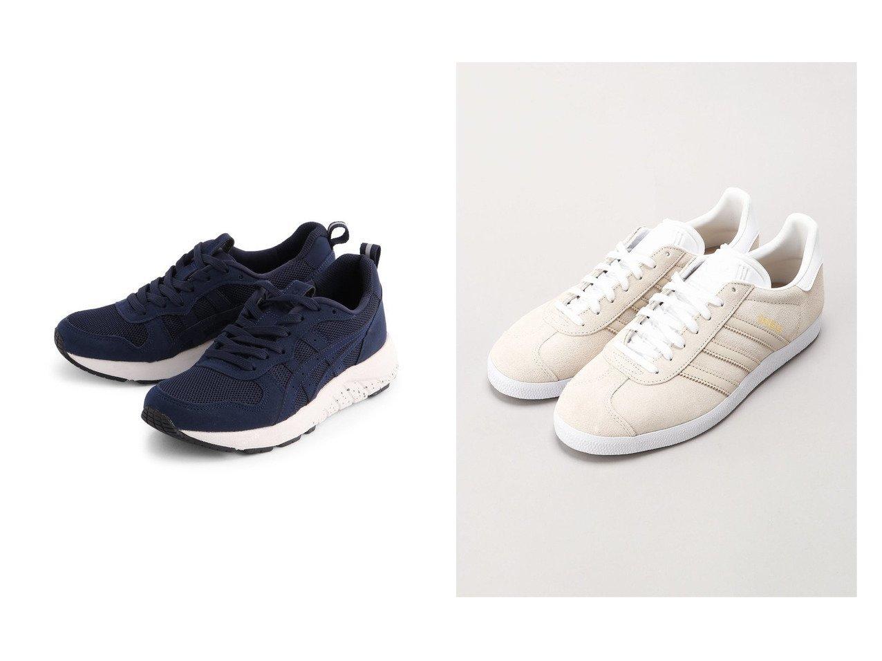 【asics/アシックス】の《アシックス公式》 スニーカー 【ゲルムージー 007】 2E相当&【adidas Originals/アディダス オリジナルス】の【FREAK S STORE】ガゼル Gazelle 【シューズ・靴】おすすめ!人気、トレンド・レディースファッションの通販 おすすめで人気の流行・トレンド、ファッションの通販商品 メンズファッション・キッズファッション・インテリア・家具・レディースファッション・服の通販 founy(ファニー) https://founy.com/ ファッション Fashion レディースファッション WOMEN クラシック サッカー シューズ スエード スニーカー スリッポン 人気 今季 定番 Standard クッション シンプル メッシュ ラッセル |ID:crp329100000028409