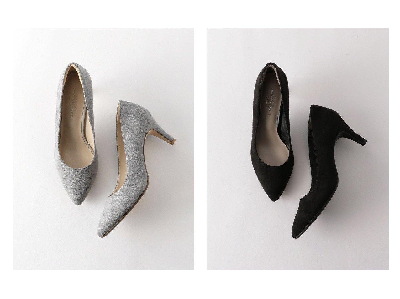 【green label relaxing / UNITED ARROWS/グリーンレーベル リラクシング / ユナイテッドアローズ】のmodel NO.07 D ポインテッド プレーン パンプス (7cmヒール) 【シューズ・靴】おすすめ!人気、トレンド・レディースファッションの通販 おすすめで人気の流行・トレンド、ファッションの通販商品 メンズファッション・キッズファッション・インテリア・家具・レディースファッション・服の通販 founy(ファニー) https://founy.com/ ファッション Fashion レディースファッション WOMEN クッション クール シューズ トレンド 定番 Standard ハイヒール パイソン フィット フォルム プレーン ベーシック ポインテッド NEW・新作・新着・新入荷 New Arrivals |ID:crp329100000028411