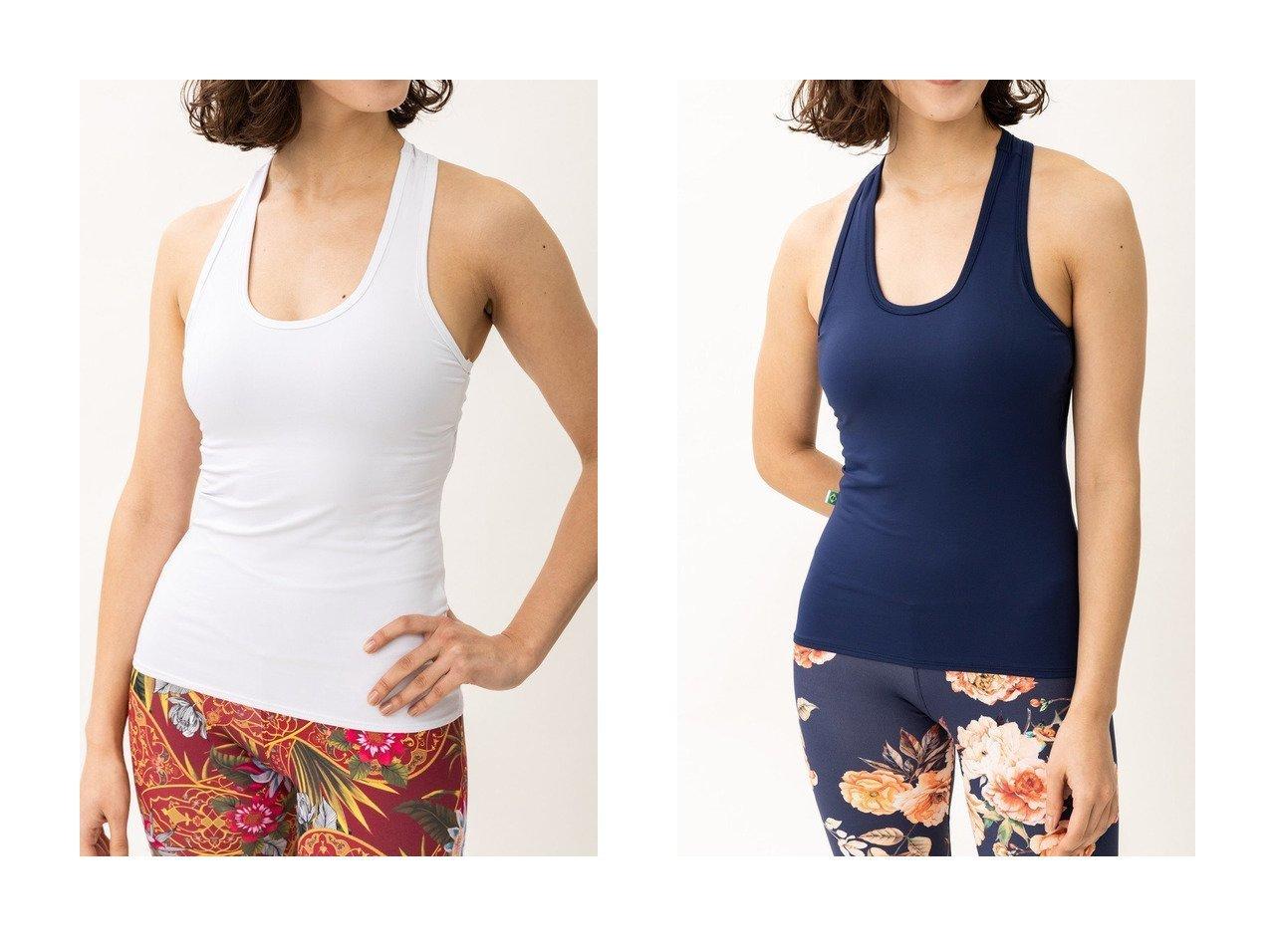 【Women's Health/ウィメンズヘルス】の【Linda Works】オープンバックタンク スポーツ・ヨガウェア、運動・ダイエットグッズなどのおすすめ!人気ファッション通販 おすすめで人気の流行・トレンド、ファッションの通販商品 メンズファッション・キッズファッション・インテリア・家具・レディースファッション・服の通販 founy(ファニー) https://founy.com/ ファッション Fashion レディースファッション WOMEN トップス・カットソー Tops/Tshirt スポーツウェア Sportswear スポーツ トップス Tops ストレッチ スポーツ タンク ファブリック フィット ヨガ リラックス |ID:crp329100000028412