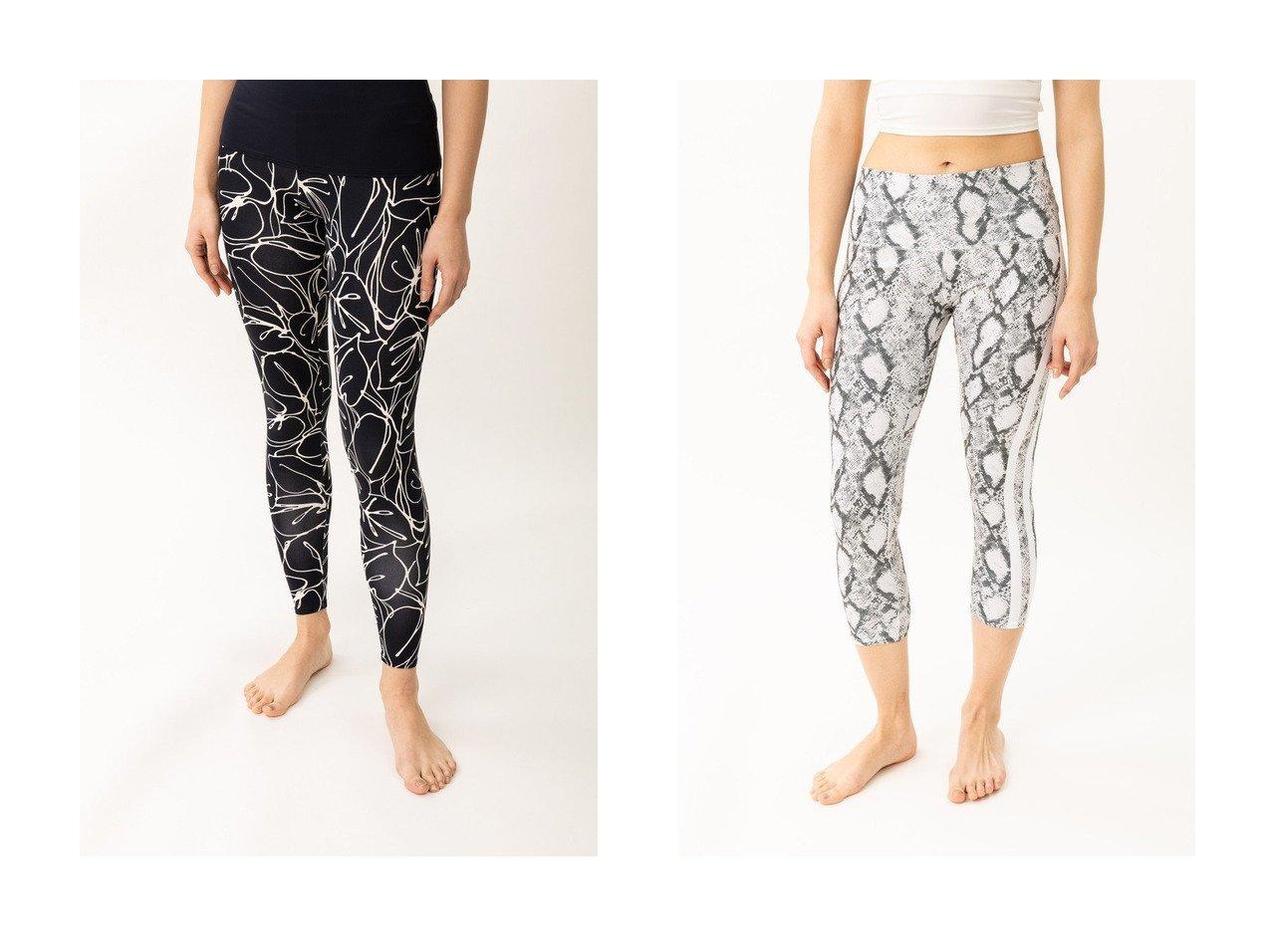 【Women's Health/ウィメンズヘルス】の【Style Boat Market】パイソン柄レギンス&【Linda Works】ヨガレギンス スポーツ・ヨガウェア、運動・ダイエットグッズなどのおすすめ!人気ファッション通販 おすすめで人気の流行・トレンド、ファッションの通販商品 メンズファッション・キッズファッション・インテリア・家具・レディースファッション・服の通販 founy(ファニー) https://founy.com/ ファッション Fashion レディースファッション WOMEN パンツ Pants レギンス Leggings おすすめ Recommend インナー ショーツ シンプル スポーツ ファブリック フィット プリント モノトーン ヨガ リーフ レギンス トレンド パイソン 定番 Standard |ID:crp329100000028414