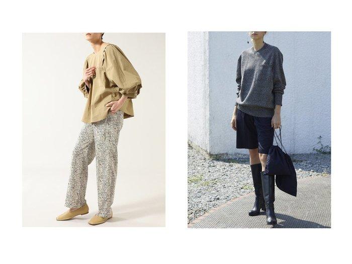【POSTELEGANT/ポステレガント】のウールシルクショートパンツ&【ROSE BUD/ローズバッド】のプリントイージーパンツ 【パンツ】おすすめ!人気、トレンド・レディースファッションの通販 おすすめファッション通販アイテム レディースファッション・服の通販 founy(ファニー) ファッション Fashion レディースファッション WOMEN パンツ Pants ハーフ / ショートパンツ Short Pants 2021年 2021 2021春夏・S/S SS/Spring/Summer/2021 S/S・春夏 SS・Spring/Summer ギャザー ストレート パターン モチーフ 春 Spring ショート シルク 軽量  ID:crp329100000028416