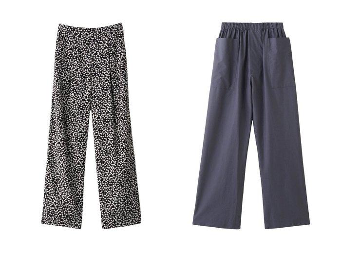 【Ezick/エジック】のモチーフワイドパンツ&【POSTELEGANT/ポステレガント】のハイカウントコットンパジャマパンツ 【パンツ】おすすめ!人気、トレンド・レディースファッションの通販 おすすめファッション通販アイテム レディースファッション・服の通販 founy(ファニー) ファッション Fashion レディースファッション WOMEN パンツ Pants 2021年 2021 2021春夏・S/S SS/Spring/Summer/2021 S/S・春夏 SS・Spring/Summer おすすめ Recommend セットアップ ドレープ プリント ワイド 春 Spring  ID:crp329100000028418
