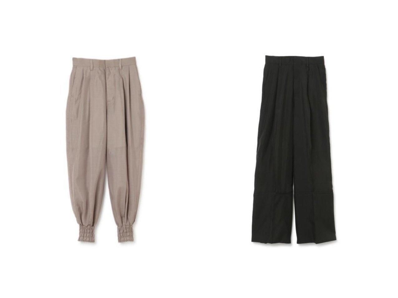【AKIRANAKA/アキラナカ】のChelo harem TP pants&Kirsi rolled up panel pants 【パンツ】おすすめ!人気、トレンド・レディースファッションの通販 おすすめで人気の流行・トレンド、ファッションの通販商品 メンズファッション・キッズファッション・インテリア・家具・レディースファッション・服の通販 founy(ファニー) https://founy.com/ ファッション Fashion レディースファッション WOMEN パンツ Pants 2021年 2021 2021春夏・S/S SS/Spring/Summer/2021 S/S・春夏 SS・Spring/Summer シャーリング 今季 ワイド |ID:crp329100000028425