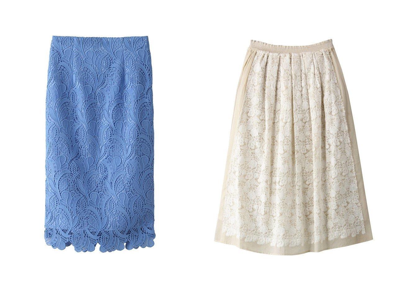 【ANAYI/アナイ】のボタニカルケミカルレースタイトスカート&【ANTIPAST/アンティパスト】のフラワーエンブロイダリーファブリックスカート 【スカート】おすすめ!人気、トレンド・レディースファッションの通販 おすすめで人気の流行・トレンド、ファッションの通販商品 メンズファッション・キッズファッション・インテリア・家具・レディースファッション・服の通販 founy(ファニー) https://founy.com/ ファッション Fashion レディースファッション WOMEN スカート Skirt ロングスカート Long Skirt 2021年 2021 2021春夏・S/S SS/Spring/Summer/2021 S/S・春夏 SS・Spring/Summer フェミニン レース 春 Spring |ID:crp329100000028442