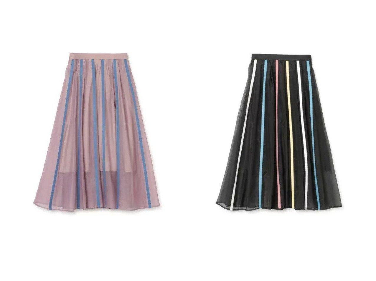 【AKIRANAKA/アキラナカ】のDoloress flare skirt 【スカート】おすすめ!人気、トレンド・レディースファッションの通販 おすすめで人気の流行・トレンド、ファッションの通販商品 メンズファッション・キッズファッション・インテリア・家具・レディースファッション・服の通販 founy(ファニー) https://founy.com/ ファッション Fashion レディースファッション WOMEN スカート Skirt 2021年 2021 2021春夏・S/S SS/Spring/Summer/2021 S/S・春夏 SS・Spring/Summer シフォン ストライプ フェミニン マキシ ロング |ID:crp329100000028449
