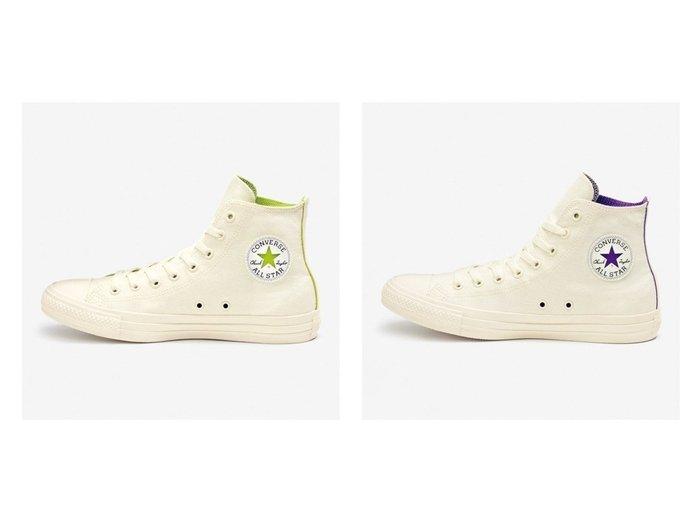 【CONVERSE/コンバース】のALL STAR COSMOINWHITE HI 【シューズ・靴】おすすめ!人気、トレンド・レディースファッションの通販 おすすめファッション通販アイテム レディースファッション・服の通販 founy(ファニー) ファッション Fashion レディースファッション WOMEN NEW・新作・新着・新入荷 New Arrivals アンクル インソール シューズ シンプル スニーカー スリッポン パッチ パープル ビビッド ライニング |ID:crp329100000028469