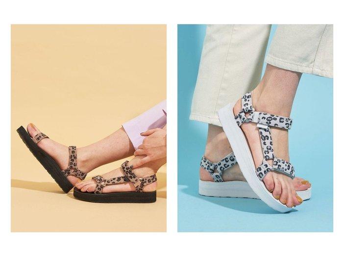 【BEAUTY&YOUTH / UNITED ARROWS/ビューティ&ユース ユナイテッドアローズ】の【国内exclusive】 TEVA(テバ) レザー レオパードプリント MIDFORM UNIVERSAL サンダル 【シューズ・靴】おすすめ!人気、トレンド・レディースファッションの通販 おすすめファッション通販アイテム レディースファッション・服の通販 founy(ファニー) ファッション Fashion レディースファッション WOMEN サンダル シューズ ハンド バランス プリント ボトム マキシ ミュール |ID:crp329100000028474