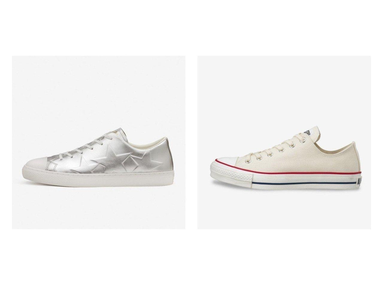 【CONVERSE/コンバース】のCANVAS ALL STAR J OX&ALL STAR COUPE TRIOSTAR EB OX 【シューズ・靴】おすすめ!人気、トレンド・レディースファッションの通販 おすすめで人気の流行・トレンド、ファッションの通販商品 メンズファッション・キッズファッション・インテリア・家具・レディースファッション・服の通販 founy(ファニー) https://founy.com/ ファッション Fashion レディースファッション WOMEN シューズ シルバー スニーカー スリッポン インソール キャンバス ラバー 日本製 Made in Japan |ID:crp329100000028478