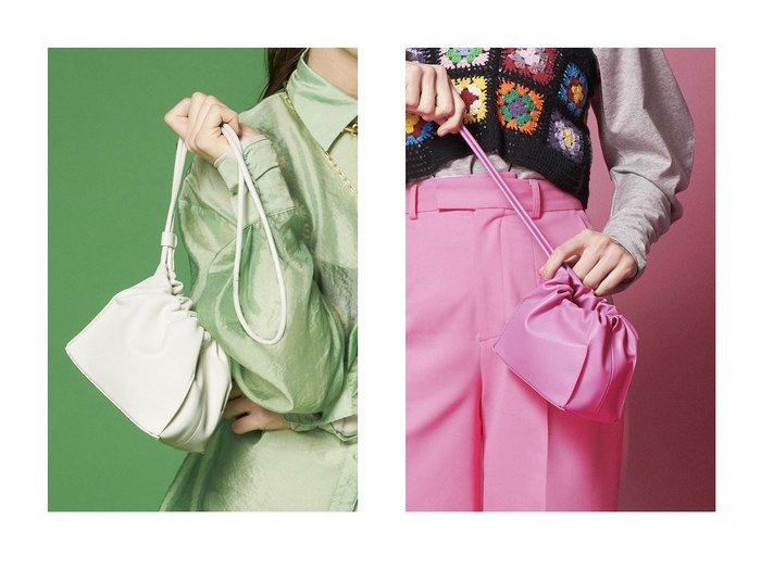 【MAISON SPECIAL/メゾンスペシャル】のヴィーガンレザースクエアドローストリングバッグ 【バッグ・鞄】おすすめ!人気、トレンド・レディースファッションの通販 おすすめファッション通販アイテム レディースファッション・服の通販 founy(ファニー) ファッション Fashion レディースファッション WOMEN バッグ Bag ドッキング ハンドバッグ ワンポイント 巾着 |ID:crp329100000028495