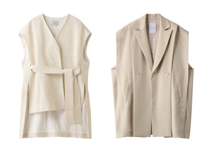 【LE PHIL/ル フィル】のローシルクジャケット&【Ujoh/ウジョー】のウールスリットベスト 【アウター】おすすめ!人気、トレンド・レディースファッションの通販 おすすめファッション通販アイテム レディースファッション・服の通販 founy(ファニー) ファッション Fashion レディースファッション WOMEN アウター Coat Outerwear ジャケット Jackets 2021年 2021 2021春夏・S/S SS/Spring/Summer/2021 S/S・春夏 SS・Spring/Summer ジャケット 再入荷 Restock/Back in Stock/Re Arrival 春 Spring |ID:crp329100000028552