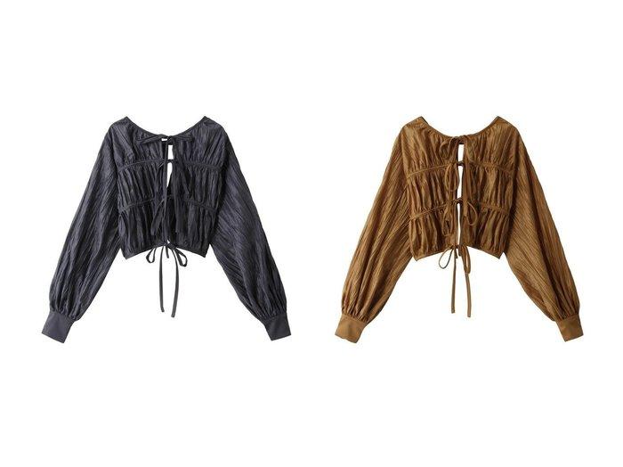 【MAISON SPECIAL/メゾンスペシャル】の2WAYギャザーボレロ 【アウター】おすすめ!人気、トレンド・レディースファッションの通販 おすすめファッション通販アイテム レディースファッション・服の通販 founy(ファニー) ファッション Fashion レディースファッション WOMEN アウター Coat Outerwear ボレロ Bolero jackets トップス・カットソー Tops/Tshirt シャツ/ブラウス Shirts/Blouses 2021年 2021 2021春夏・S/S SS/Spring/Summer/2021 S/S・春夏 SS・Spring/Summer ギャザー スリーブ フロント プリーツ ボレロ ランダム リボン ロング 春 Spring |ID:crp329100000028553